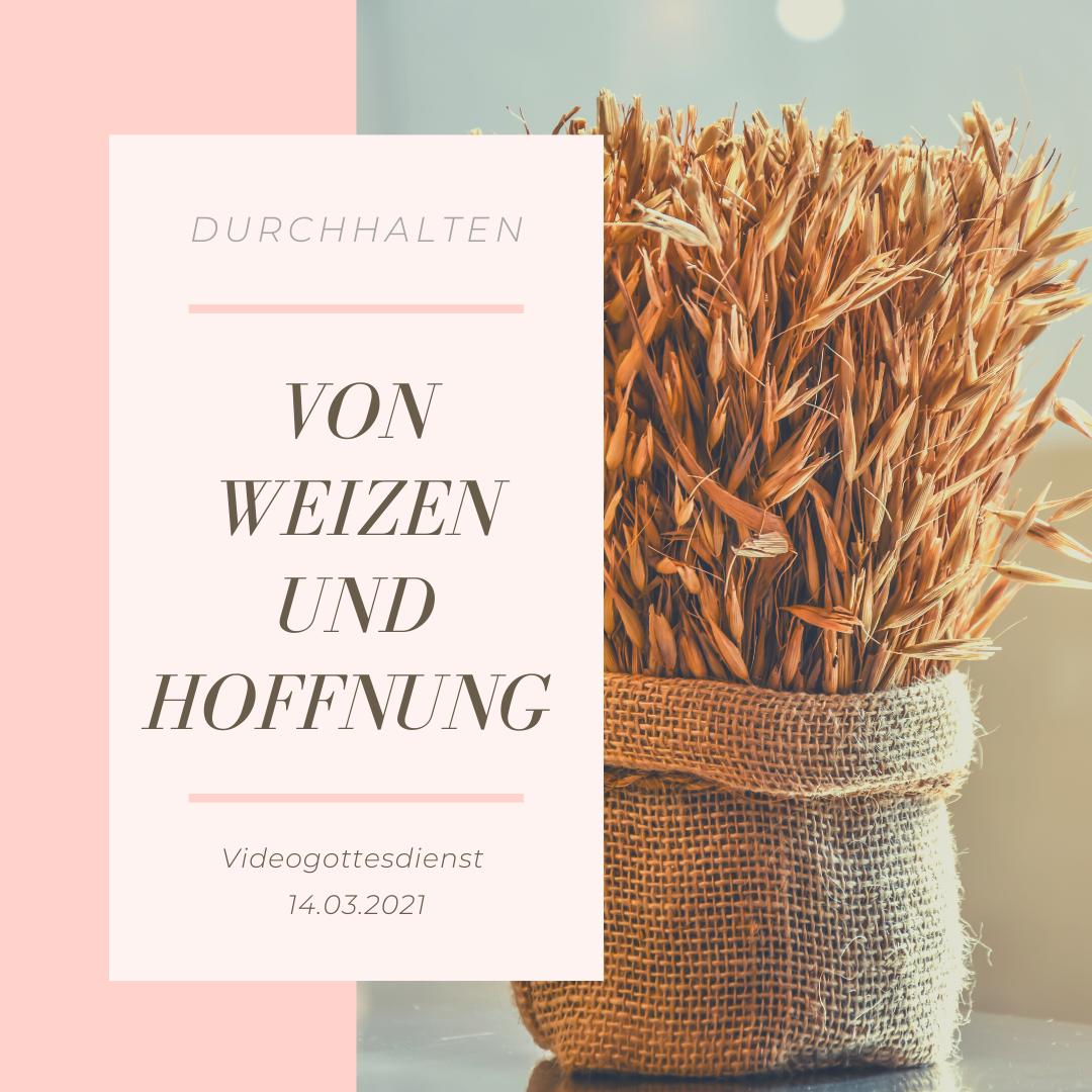 Von Weizen und Hoffnung